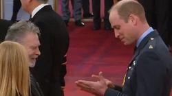 El comentadísimo gesto del príncipe Guillermo: fíjate en las