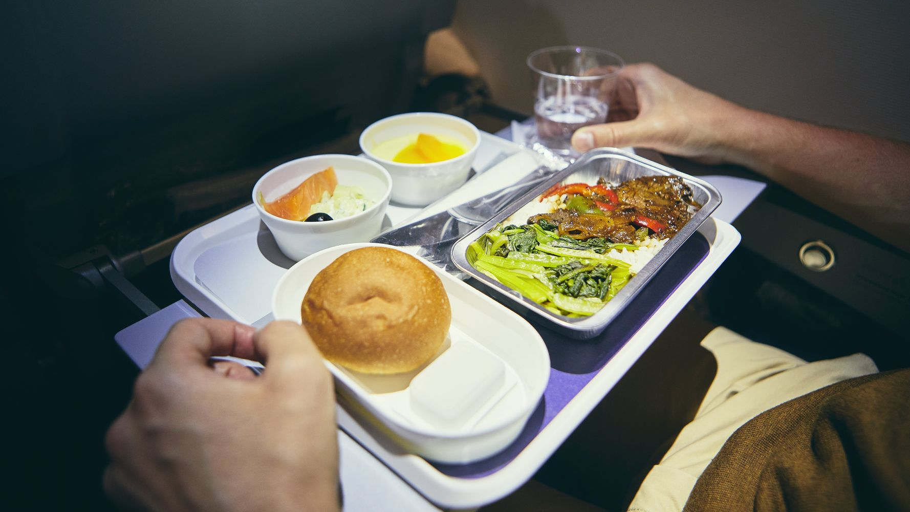 Discarded Plastic And Uneaten Food: The Shameful Story Of Airline Cabin Waste