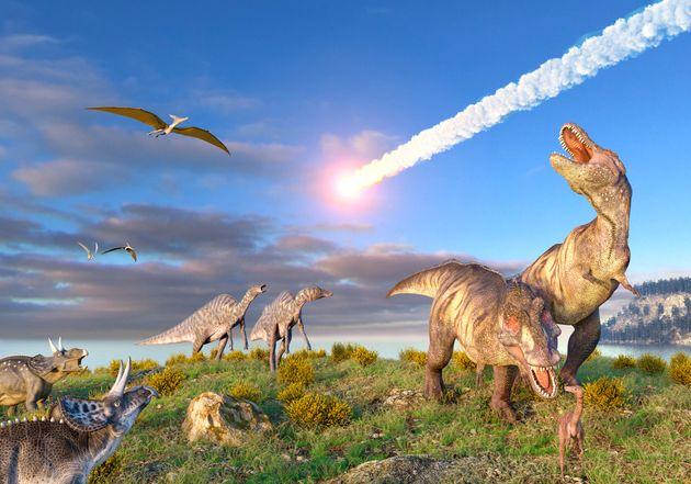 Ce serait bien l'astéroïde à l'origine du cratère de Chicxulub qui a entraîné...