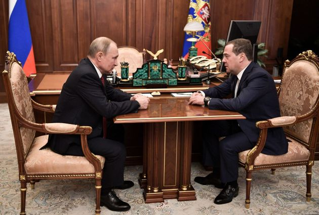 L'incontro tra Medvedev e