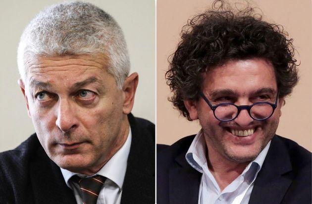 Il presidente della Commissione parlamentare antimafia, Nicola Morra - il candidato M5s in Calabria,...
