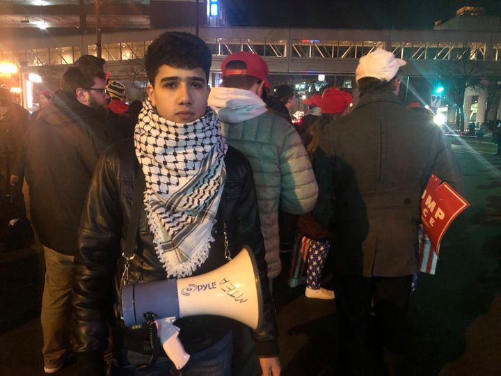Mohammed Mustfa, 18, says a Trump supporter told him to convert to Christianity.