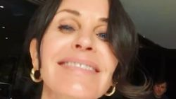 Courteney Cox Playing With The 'Which Friends Character Are You?' Filter Has Us