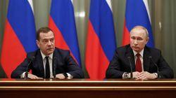 Poutine annonce une réforme de la Constitution, démission surprise du