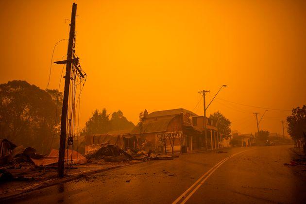 Gli incendi in Australia come specchio del mondo