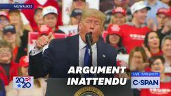 Trump a un étrange argument électoral: plus d'eau dans les
