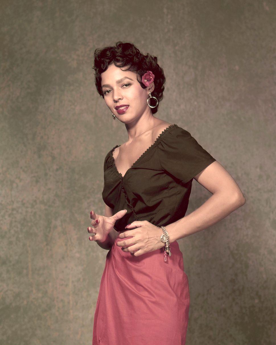 "Dorothy Dandridge in ""Carmen Jones."""