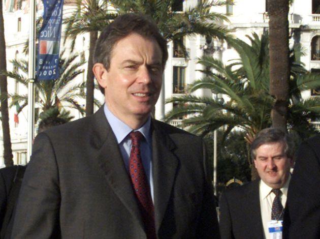 トニー・ブレア元首相(2000年)