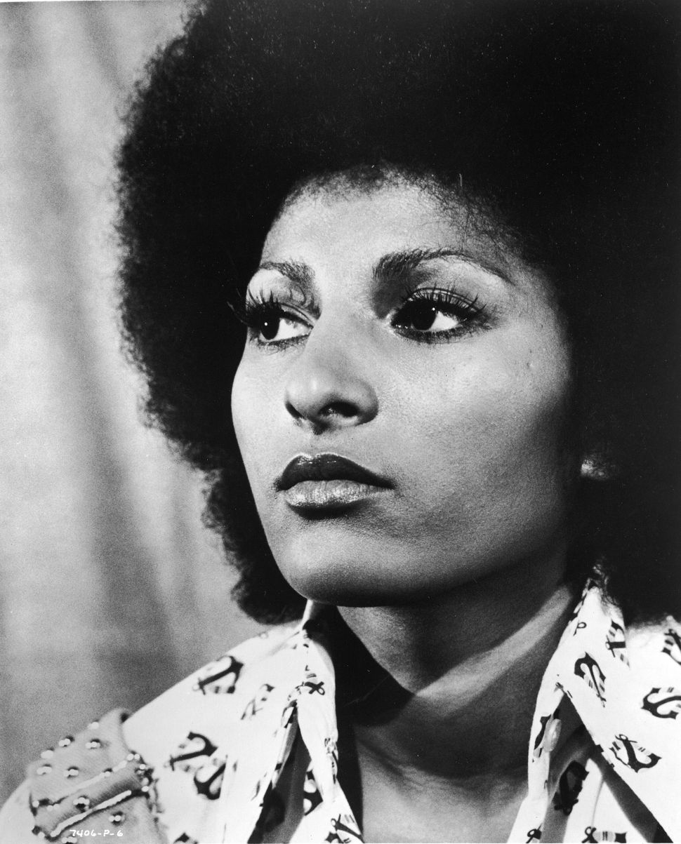 "Pam Grier starred in ""Foxy Brown."""