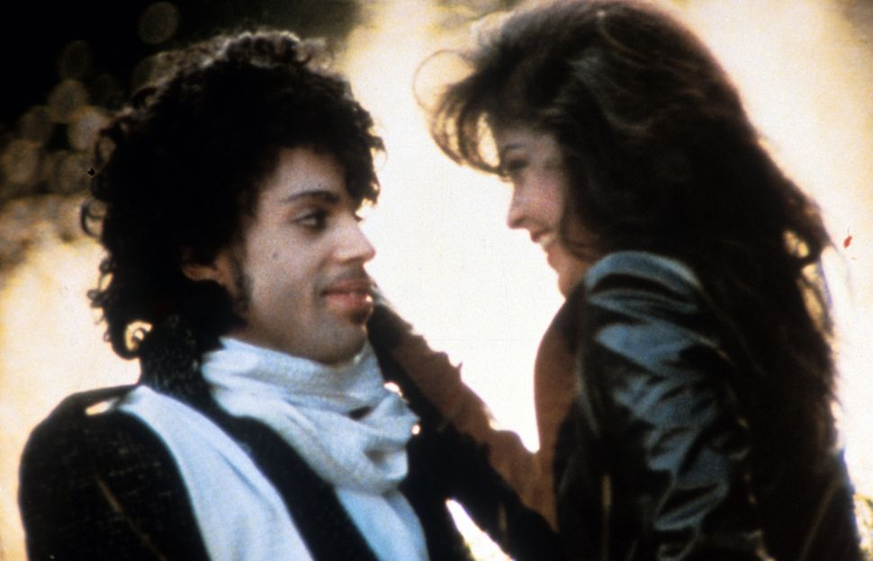 "Prince with Apollonia Kotero in ""Purple Rain."""