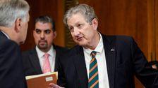 GOP Senator Blasten Vorgeschlagenen Grenzwerte Auf Drücken Sie Während des Amtsenthebungsverfahren