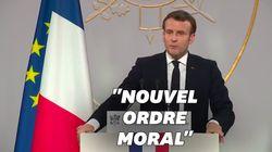 Face à la presse, Macron s'en prend (encore) aux réseaux sociaux et aux fake