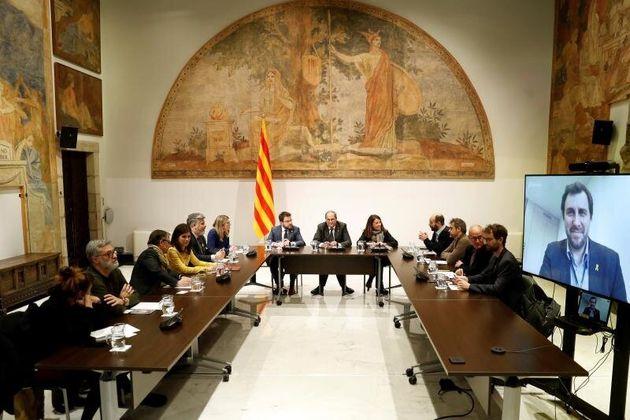 El Govern propondrá a Sánchez ejercer la autodeterminación tras el 'consenso' del