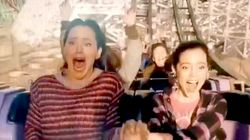 Jennifer Garner Freaking Out On A Rollercoaster Will Make Your