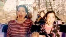 Η Τζένιφερ Γκάρνερ Φρικάρει Σε Ένα Rollercoaster Θα Κάνουν Την Εβδομάδα