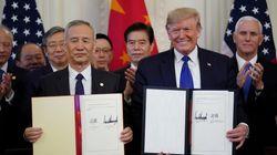 미국과 중국이 '1단계' 무역합의에 서명했다. 18개월