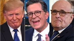 Colbert Uncovers 'The Most Incriminating Word Of All' In Notes From Giuliani