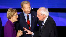 Sanders et Warren filmés en train de se traiter de menteurs après le