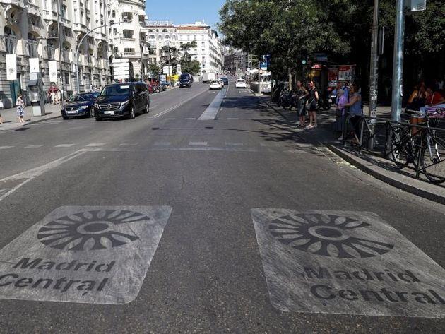 Las multas de Madrid Central pasaron de 7.358 en abril a 120.305 en
