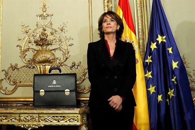 Dolores Delgado, exministra de Justicia, en una imagen de