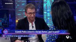 La surrealista confesión de Pablo Motos sobre lo que pasó cuando conoció a su ahora gran amigo Sergio