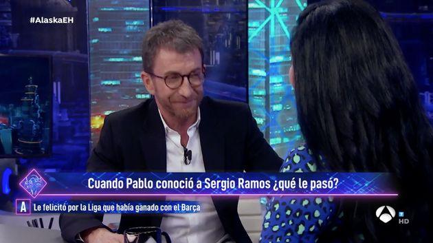 Pablo Motos, en 'El Hormiguero' el 15 de enero de