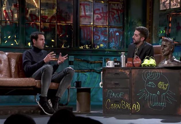 Dani Parejo y David Broncano en 'La