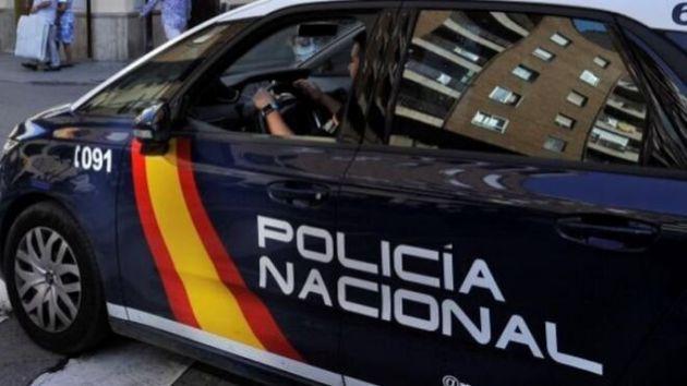 Un coche de la Policía