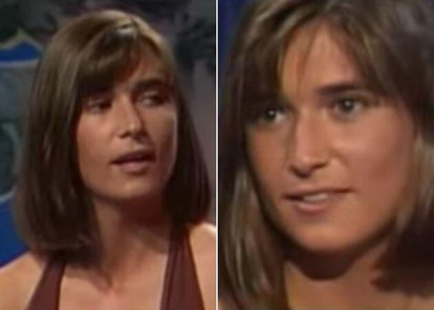 Noemí Galera con 24 años en el concurso 'Amor a primera vista' de TV3.