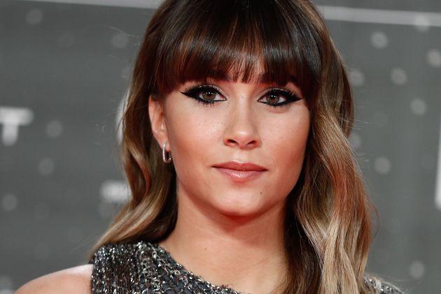 Aitana Ocaña, en Los 40 Awards el 8 de noviembre de