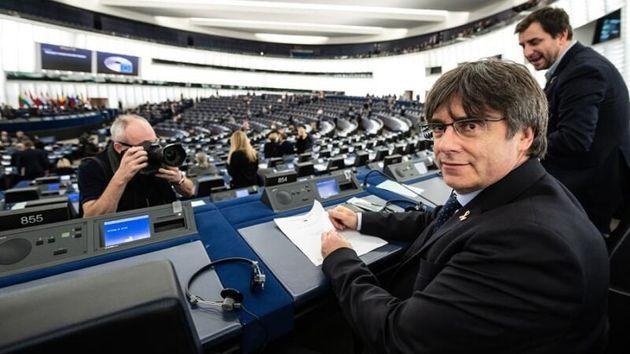 Carles Puigdemont en la