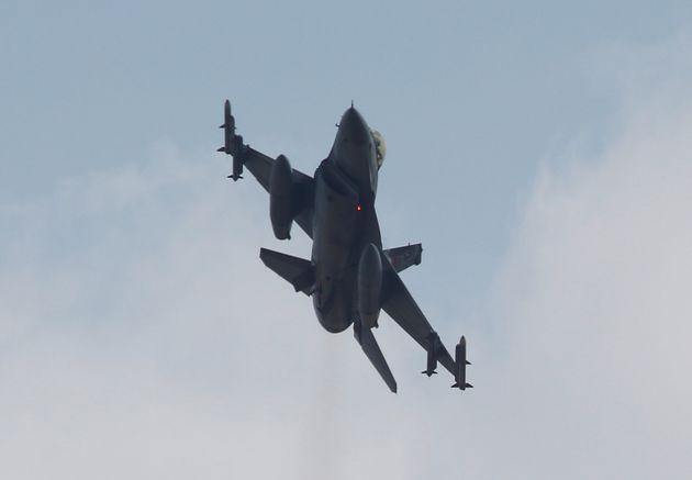 Υπέρπτηση τουρκικών μαχητικών πάνω από την