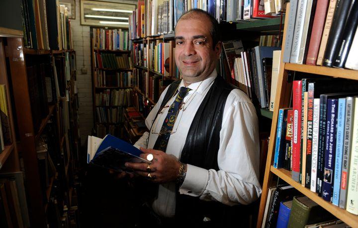 The Petersfield Bookshop owner John Westwood
