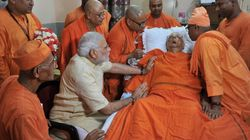 Narendra Modi Makes 'Emotional' Trip To Belur Math He Wanted To Join As A Young