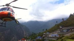 Survivors Battle For Helicopters Near Nepal Village That