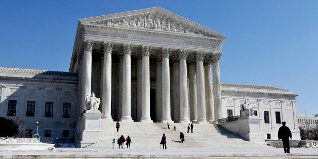 FILE - In this March 5, 2009 file photo, the Supreme Court Building is seen in Washington. After hearing...