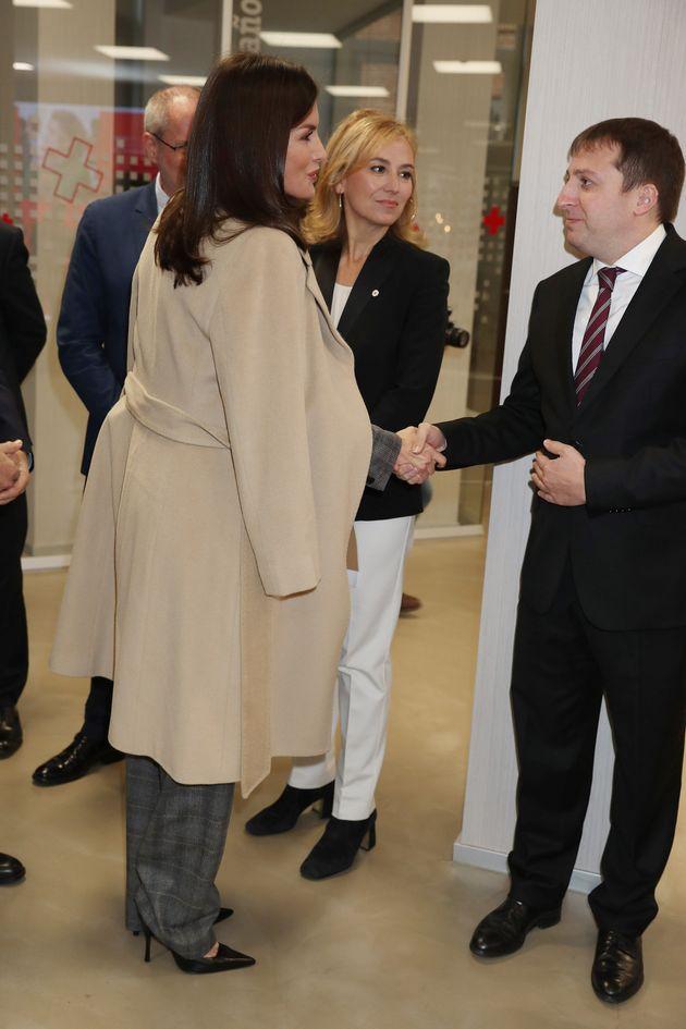La reina Letizia, el 16 de enero de 2020 en las jornadas jornadas sobre Violencia de Género: Estrategia...