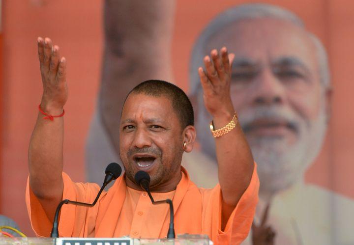 A file image of Uttar Pradesh Chief Minister Yogi Adityanath.