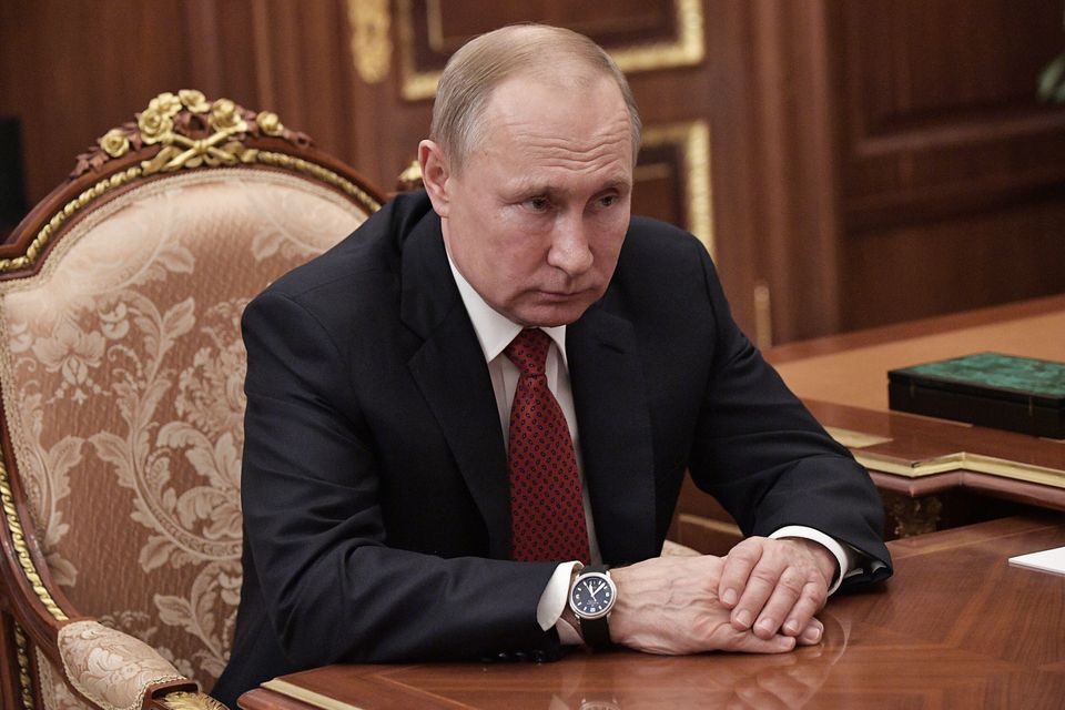 Putin has been president of Russia since