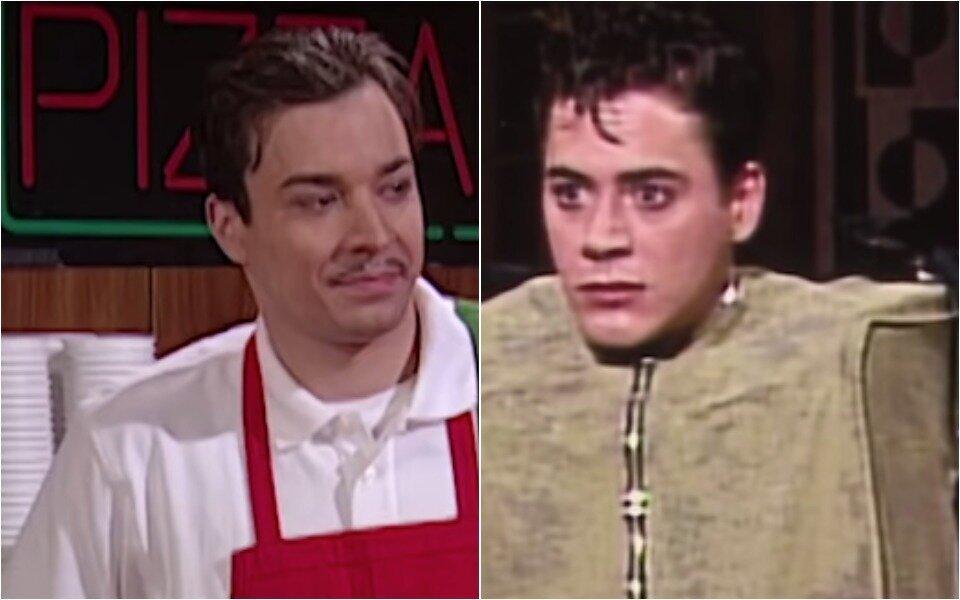 Robert Downey Jr. And Jimmy Fallon ...