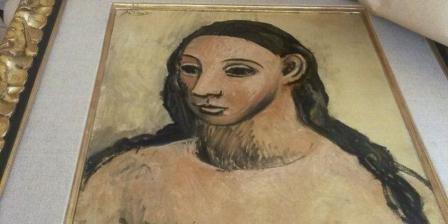 El cuadro del pintor Pablo Picasso 'Cabeza de mujer