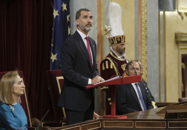 El rey abrirá la legislatura la primera semana de