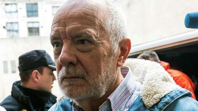 El juez Miguel Florit, a su llegada a los juzgados para declarar por la incautación y el rastreo de móviles...