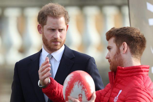 El duque de Sussex, el jueves 16 de enero en el Palacio de Buckingham,