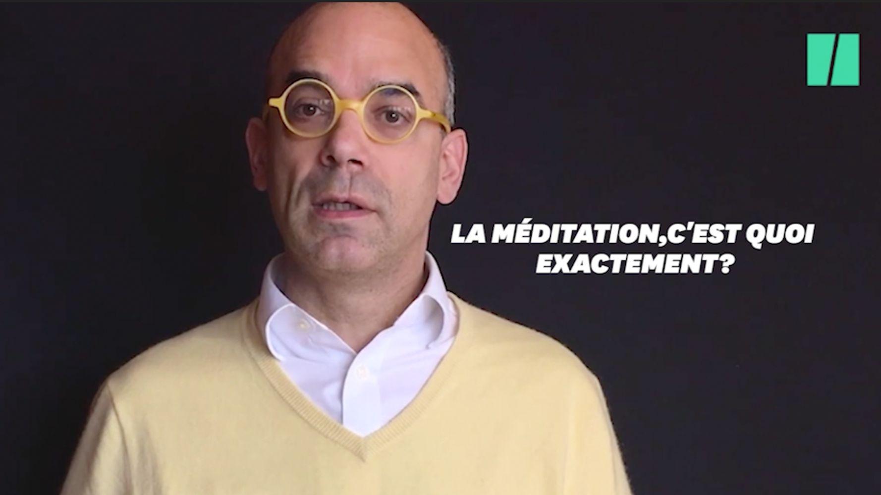 Méditer, ce n'est ni lâcher prise, ni se détendre - BLOG