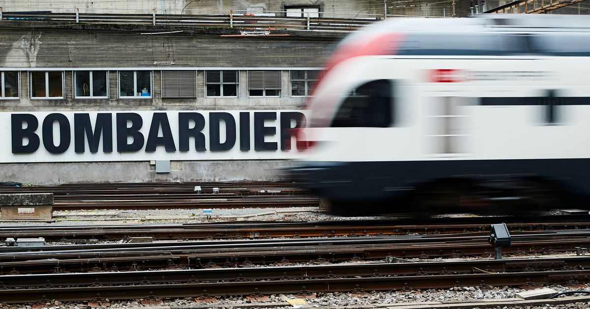 Bombardier Shares Plunge 30% As Company Warns Of Earnings Miss