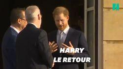 Harry fait sa première apparition publique depuis le