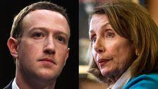 Nancy Pelosi Legt In 'Beschämend' Facebook Bei Blasenbildung Bemerkungen