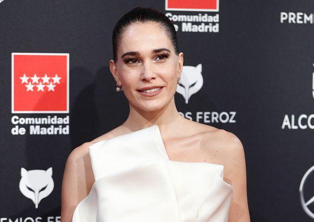 Celia Freijeiro, en la alfombra roja de los premios Feroz