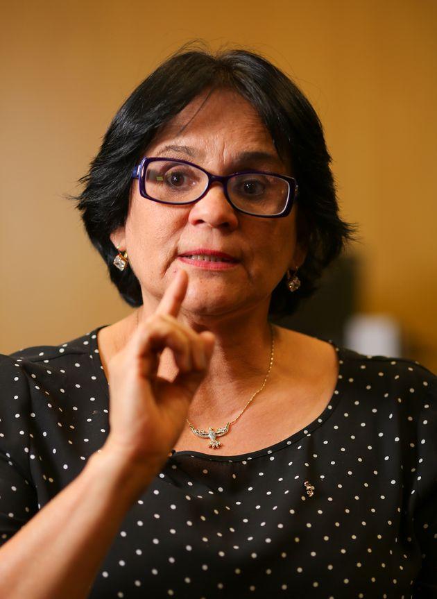 Damares Alves, ministra dos Direitos Humanos, da Família e da